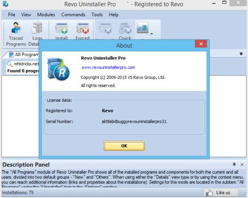 Revo Uninstaller Pro 4.0.0 with License key